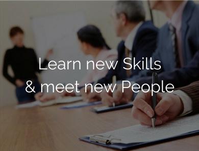 Learn New skills & meet new poeple